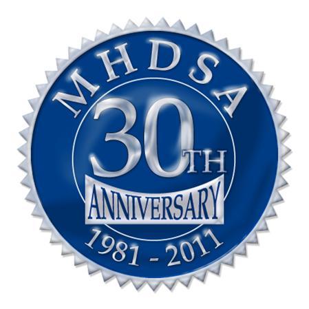 MHDSA 30 yr logo