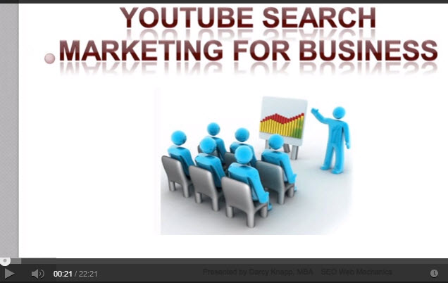 Youtube Search Marketing Webinar