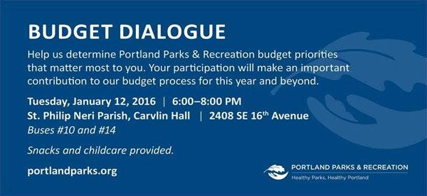 Portland Parks Budget Hearing