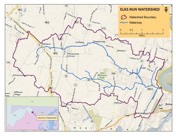 Elks Run Watershed