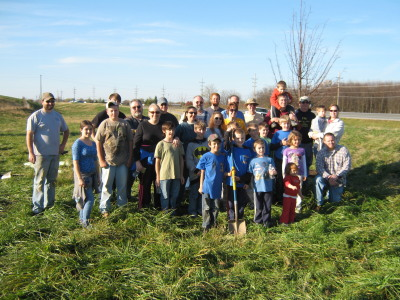 Rt 9 Tree Planting Group