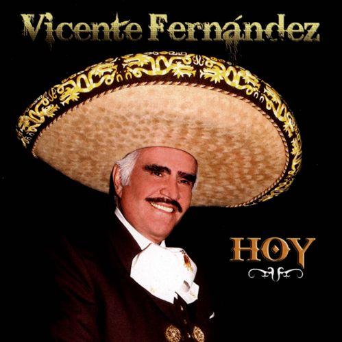 Vicente Fernandez Hoy Cover