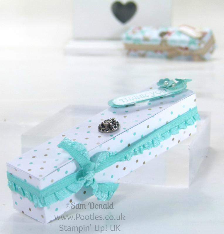 March Paper Box Tutorial