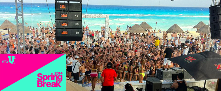 MTV U to Invade the Oasis Cancun for Spring Break 2014