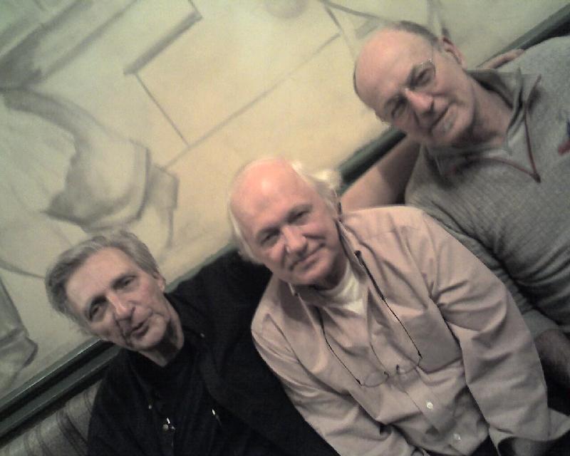 Fred, Walt, Roger