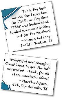 Igniting a Passion for Writing: A 2 Day STAAR Writing