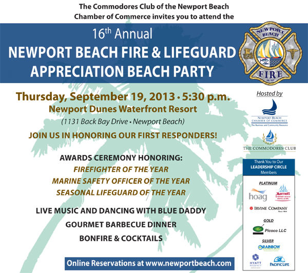 Fire and Lifeguard 2013