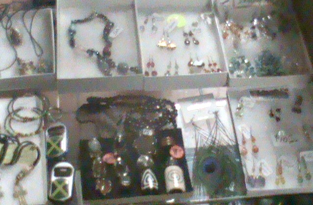 I.C- Jewelry in STRICTLY ROOTS DISPLAY  CASE 1