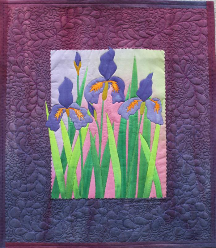 Frieda Anderson IRIS pattern