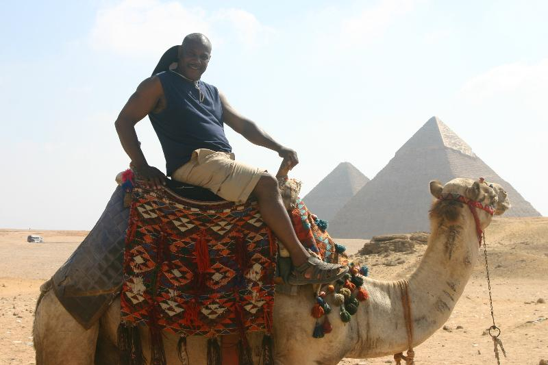 Camel Ride in Kemet