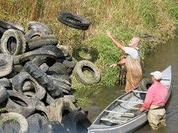 Trimbelle River Clean Up