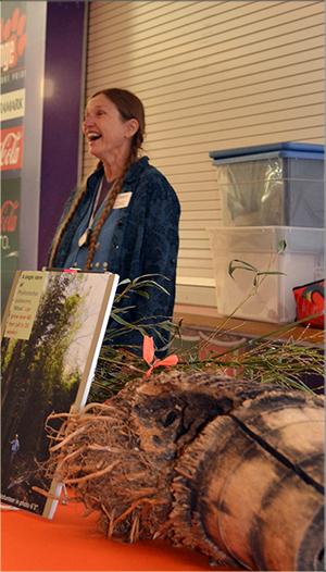 Herbarium Curator, Dixie Damrel