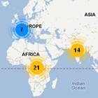 Rio+20 map
