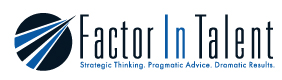 Factor In Talent Logo