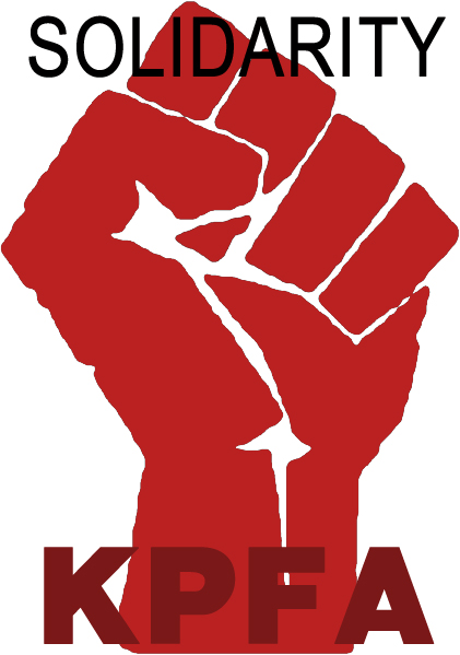 solidarity fist kpfa