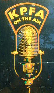 KPFA on the Air poster