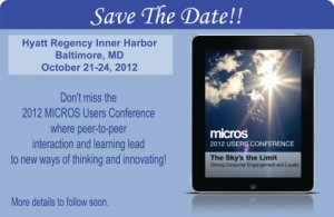 MICROS 2012 User Conference