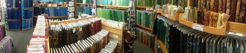 THOUSANDS OF BATIKS IN-STORE, HUNDREDS ONLINE AT WWW.FABRICGARDEN.COM