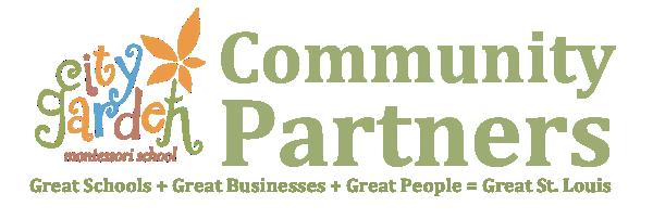 City Garden Community Partners Logo