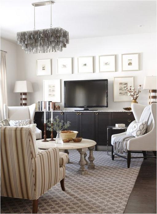 Decorating Around Your Flat Screen Tv