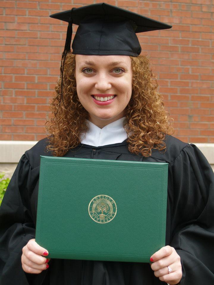 Allison Graduation Portrait