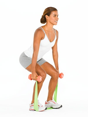squat with bands
