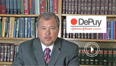 Attorney David White speaks about the DePuy recall