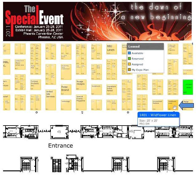 TSE Floorplan 2011