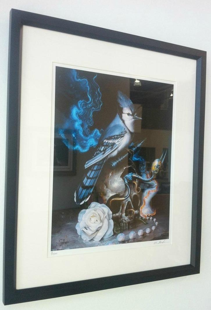 Azul framed