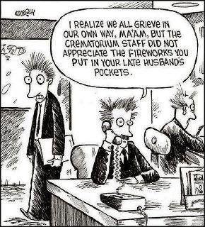 Cremation Fireworks