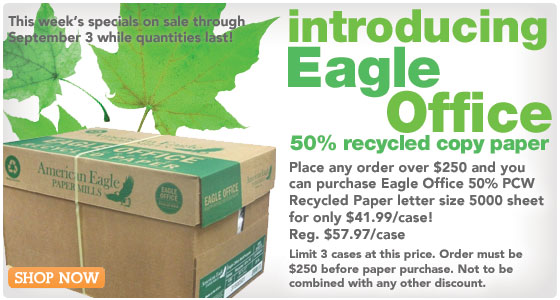 Recycled Copy Paper Recycled Binders Eco Specials Click Now