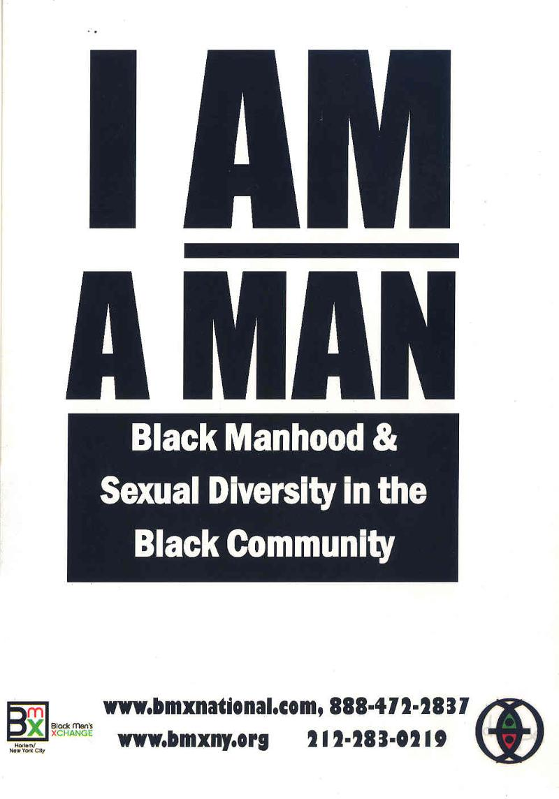 I AM A MAN-2 (back)