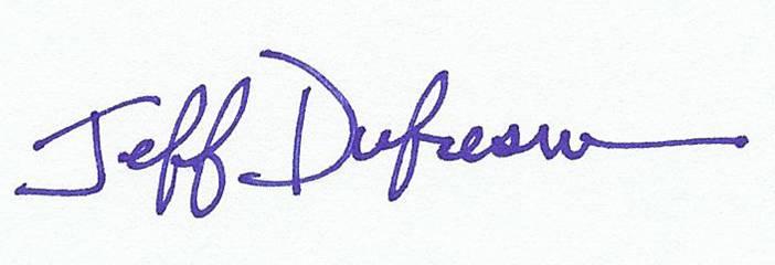 J Dufresne Signature