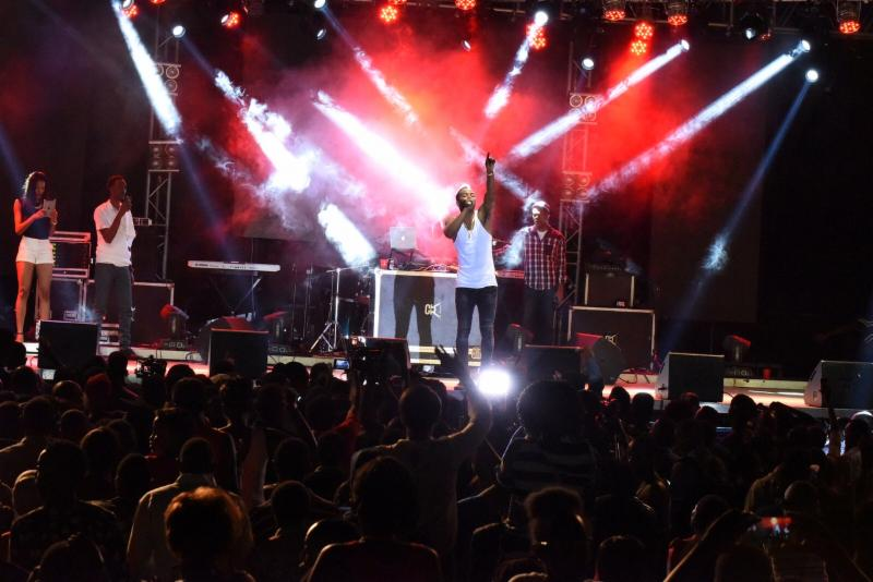 Dancehall Star Konshens Ring in the New Year in Rwanda 9