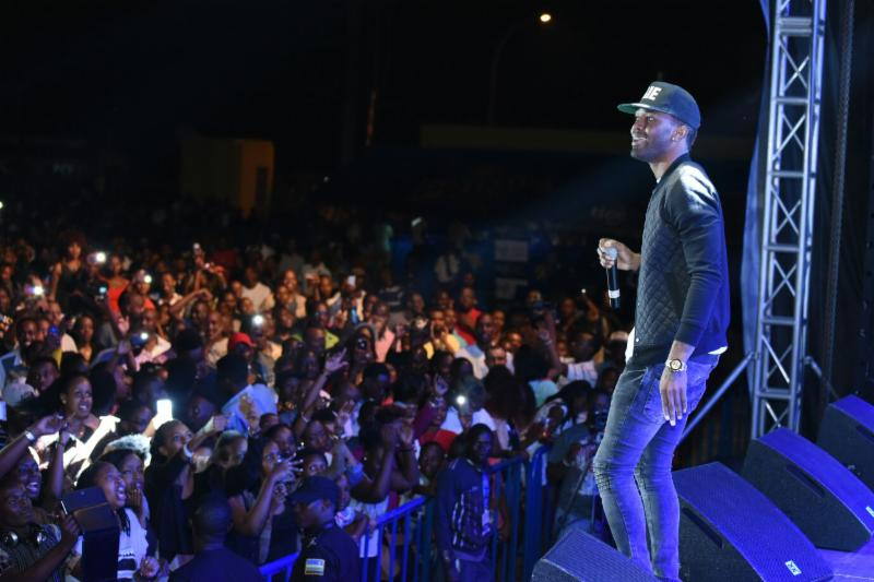 Dancehall Star Konshens Ring in the New Year in Rwanda 8