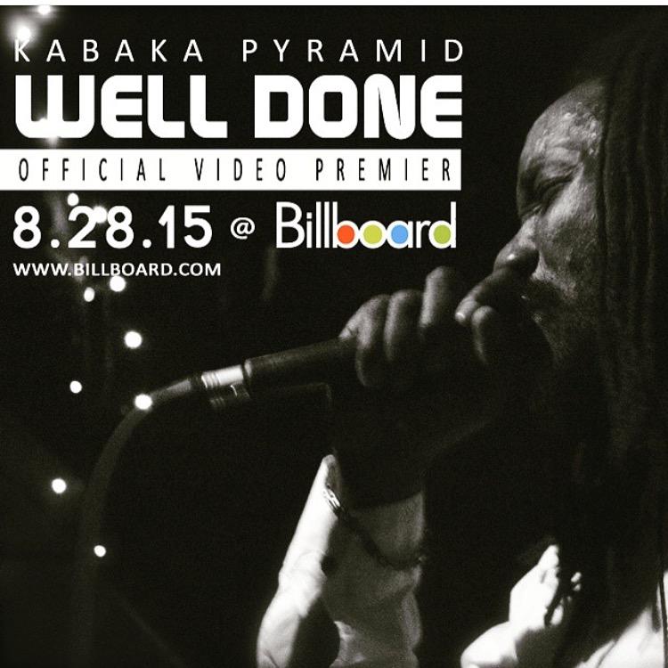 Kabaka Pyramid Premieres Well Done Video on BillBoard.com 4