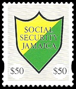 Jamaica Social Security $50