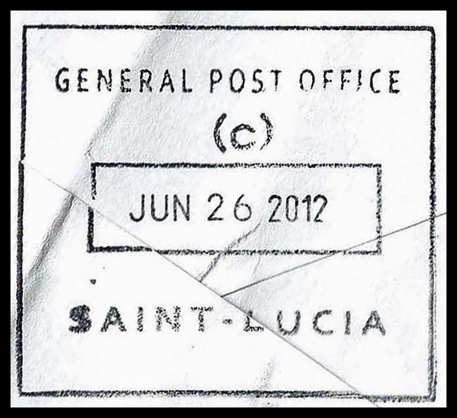 St Lucia GPO C