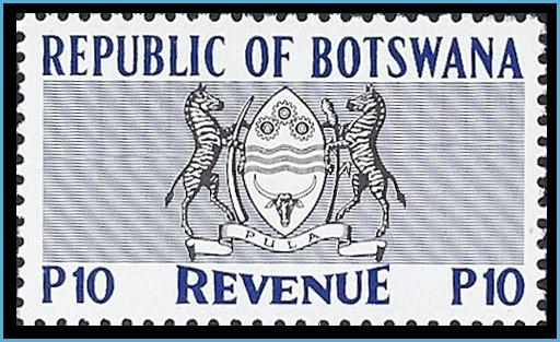 Botswana revenue