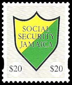 Jamaica $25 SS