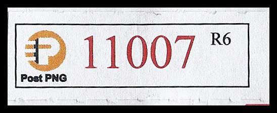 PNG Reg label