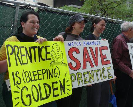 Save Prentice Rally