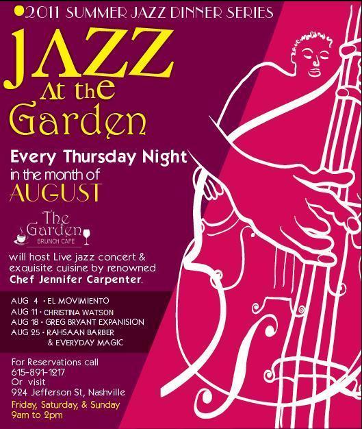 Summer Jazz flyer