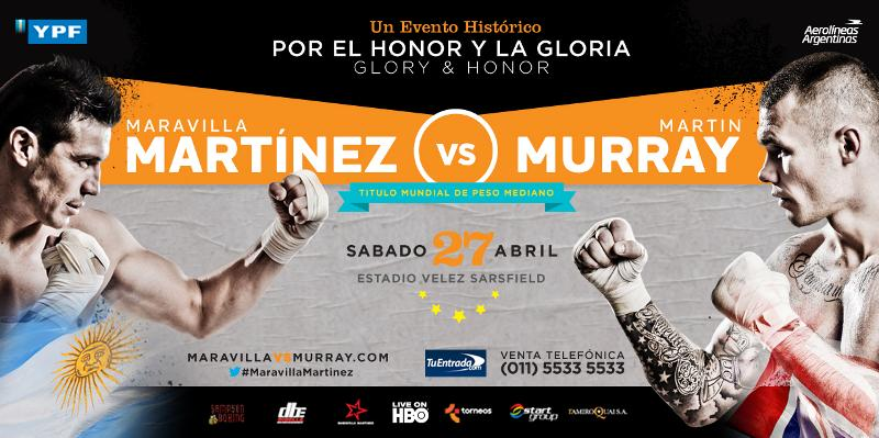 "DBE/HBO Sergio ""Maravilla"" Martinez vs Martin Murray"