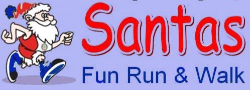 santa fun run header