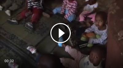 Watch this cute video of the children saying hello