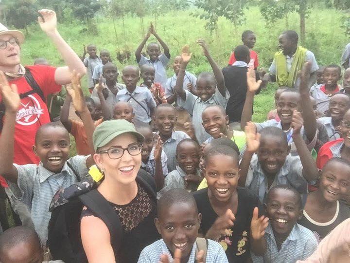 Chelsea & Trysten loving Rwanda