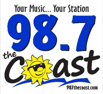 98.7 coast logo