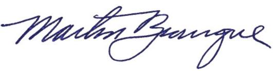 Martin Bourque signature