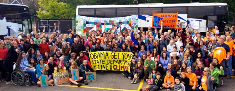 Bound for People's Climate March, Sept. 2014